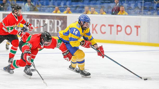 Украина одержала вторую победу на домашнем чемпионате мира по хоккею