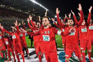 Клуб третьего дивизиона сыграет в финале Кубка Франции