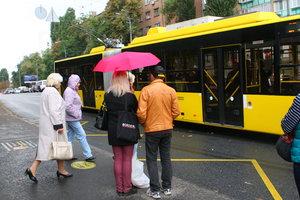 В Киеве вечером троллейбусы изменят маршруты