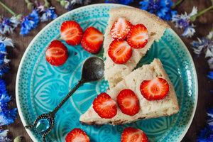 Рецепт для пикника: пирог с клубникой и ванилью