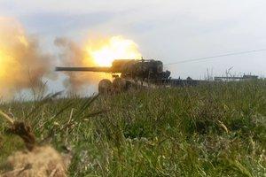 Украинские моряки провели военные учения около Крыма