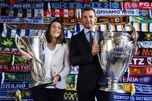 Трофеи Лиги чемпионов побывали в Киеве