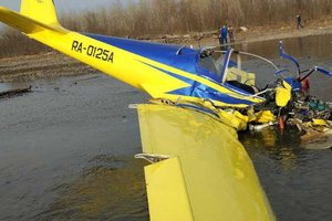 Еще один легкомоторный самолет упал в России: есть погибшие