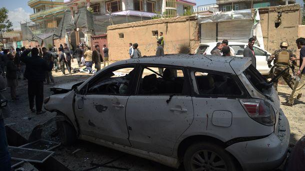 Число жертв из-за нападения смертника вКабуле возросло до31