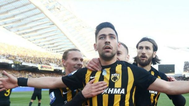 Украинский футболист стал чемпионом Греции