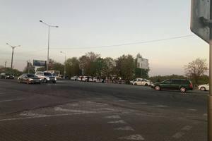 Во Львове футбольные фанаты избили водителя маршрутки