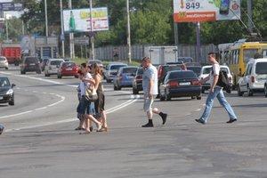 """""""Самоубийцы"""" на дорогах: какой в Украине штраф для пешеходов-нарушителей"""