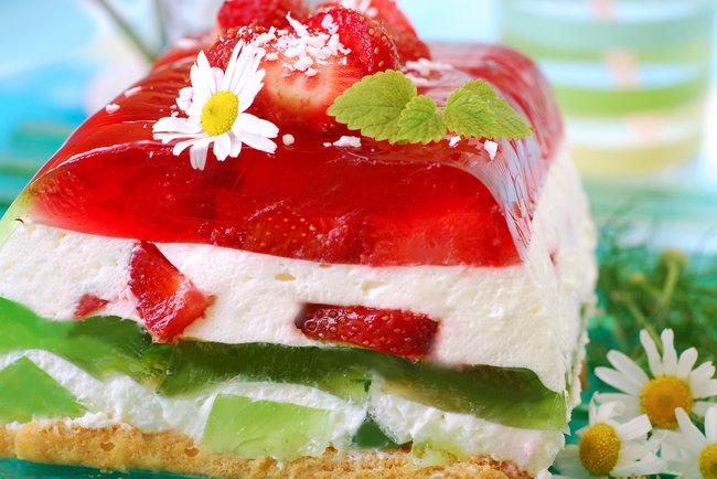 торт ,осколки,из желе.рецепт.