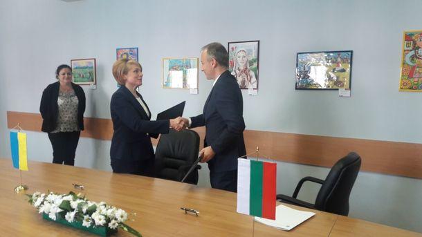 Болгария иУкраина подписали декларацию обобразовании