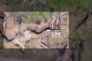 Украинский беспилотник на Донбассе атаковал позиции боевиков: Ярош показал видео