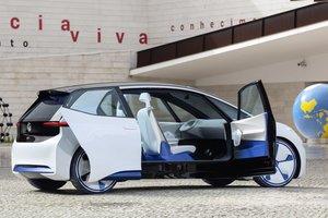 Появились первые фото массового электрокара Volkswagen