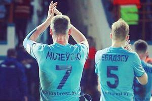 Милевский стал героем матча чемпионата Беларуси
