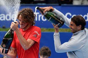 Рафаэль Надаль в одиннадцатый раз выиграл турнир в Барселоне