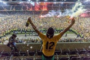 """Тысячи фанатов выбежали на поле в Швейцарии: """"Янг Бойз"""" - чемпион!"""
