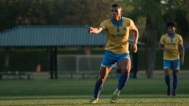 «Динамо» интересуется защитникомUD «Майами» Пересом, который является воспитанником киевлян