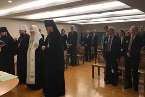 Патриарх Филарет помолился в Европарламенте за Украину
