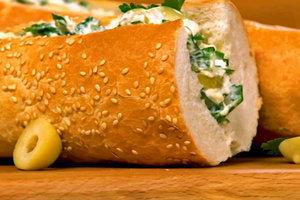 Лучшие рецепты: фаршированный багет по-французски