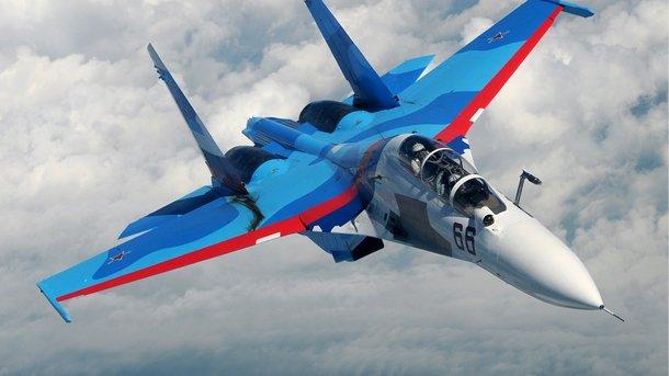 Русский истребитель потерпел крушение над Средиземным морем