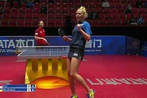 Украинки впервые в истории вышли в четвертьфинал чемпионата мира по настольному теннису