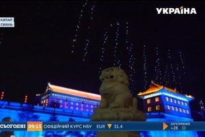В Китае небо заполонили дроны и установили новый рекорд