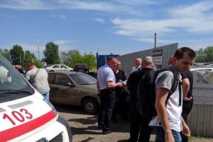 В Киеве произошел конфликт на автостоянке, есть раненые