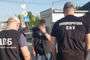 В Житомирской области на взятке попался полицейский начальник