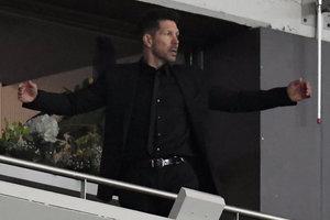 """Тренера """"Атлетико"""" дисквалифицировали на финал Лиги Европы"""