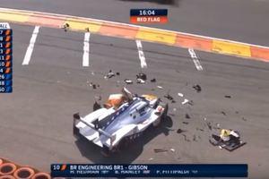 Внук двукратного чемпиона Формулы-1 попал в жуткую аварию