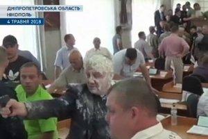 """Стрельба в горсовете Никополя: полиция """"отреагировала"""" серией уголовных производств"""
