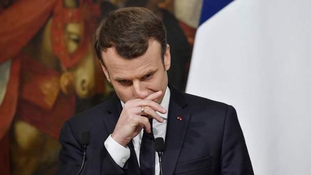 Макрон объявил, что желает «исторического истратегического» разговора сПутиным