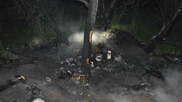 ВДнепре при пожаре погибли три человека, один пострадал
