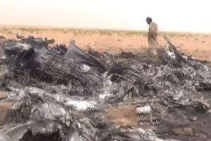 Крушение российского вертолета в Сирии: опубликовано видео