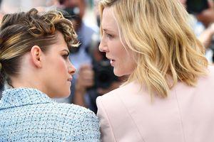 Модная битва: Кейт Бланшетт, Кристен Стюарт и Леа Сейду появились в Каннах в брючных костюмах