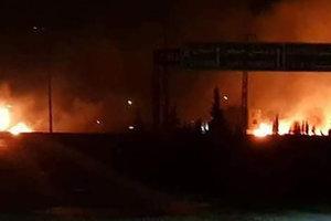 Израиль нанес массированный удар по десяткам иранских военных объектов в Сирии