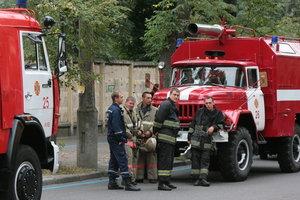 В Киеве начался пожар в Гидропарке