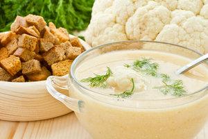 Как приготовить крем-суп из цветной капусты с мускатным орехом