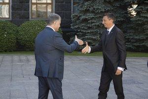 Товарооборот Украины и Словении заметно оживился - Порошенко