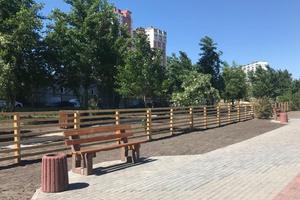 В одном из районов Киева появилась специальная зона для прогулок с собаками