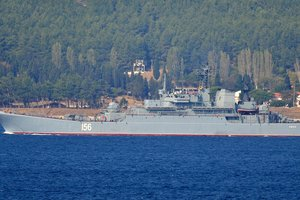 Военные корабли РФ подошли к границам Латвии