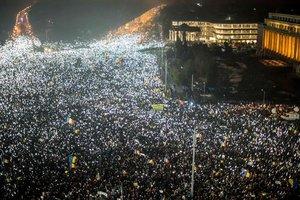 В Румынии начались многотысячные протесты против правительства