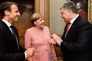 """Встречей с Меркель и Макроном Порошенко """"спас"""" Донбасс: генерал объяснил ситуацию"""