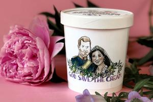В честь свадьбы принца Гарри и Меган Маркл выпустили мороженое