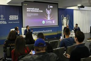 Закулисье финала Лиги чемпионов в Киеве: 4 команды мировых легенд, 40 телекамер