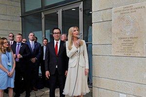 В Иерусалиме на фоне протестов открыли посольство США