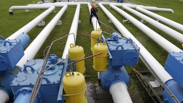 Украина после окончания отопительного сезона увеличила запасы природного газа вПХГ
