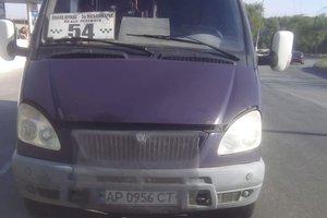 В Запорожье едва не взорвалась маршрутка с пассажирами