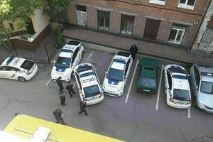 В Днепре произошло ДТП при участии трех полицейских авто