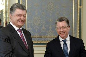 Порошенко и Волкер встретились в Киеве: о чем говорили