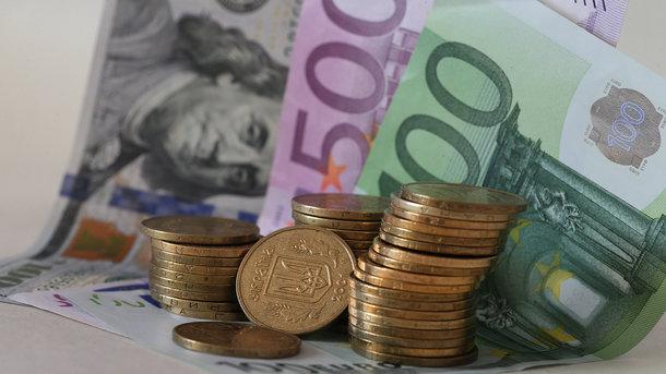 Курс евро в Украине упал до минимума за полгода