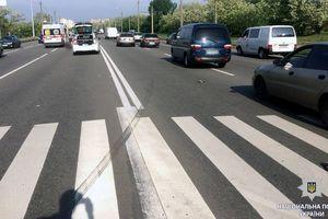 В Харькове под колесами Audi погибла женщина